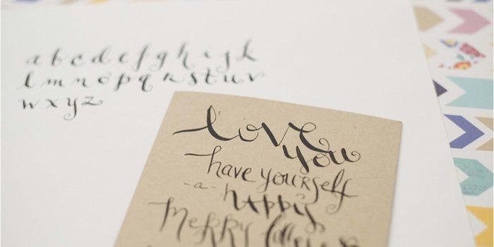 You, Me & Coffee | Calligraphy