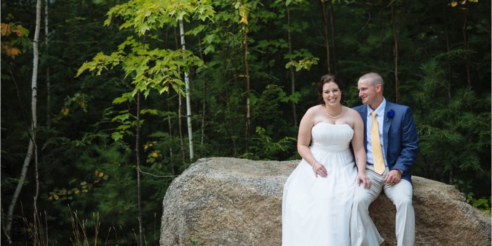 Ashley + Todd // Married!   White Mountain Hotel, North Conway, NH