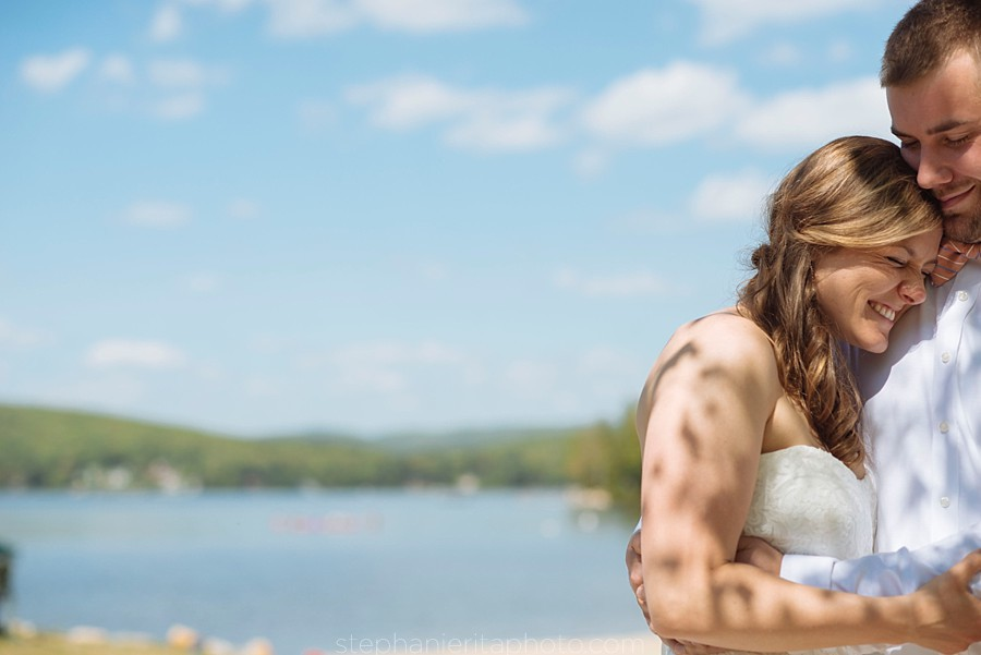 New Hampshire Wedding | Spofford Lake Wedding | Stephanie Rita Photography_0044