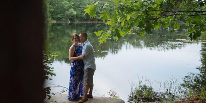 Becca + Kyle // Engaged!   New Hampshire Wedding Photographer