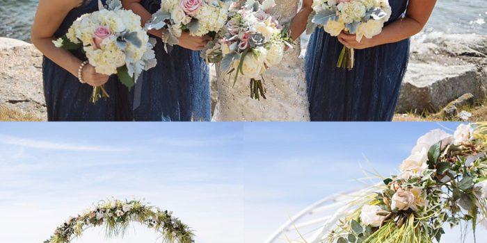Ashleigh + Ian // Married!! | The Beachmoor at Mass Maritime Wedding