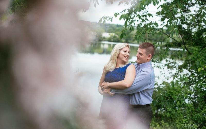 Christina + Kenny | Engagement Photos at Claypit Pond, Belmont