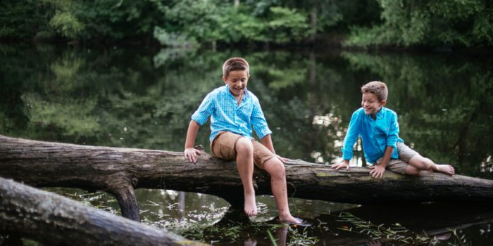 Adventurous Charles River Family Session
