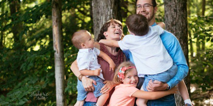 H Fam! | Keene Family Photo Session