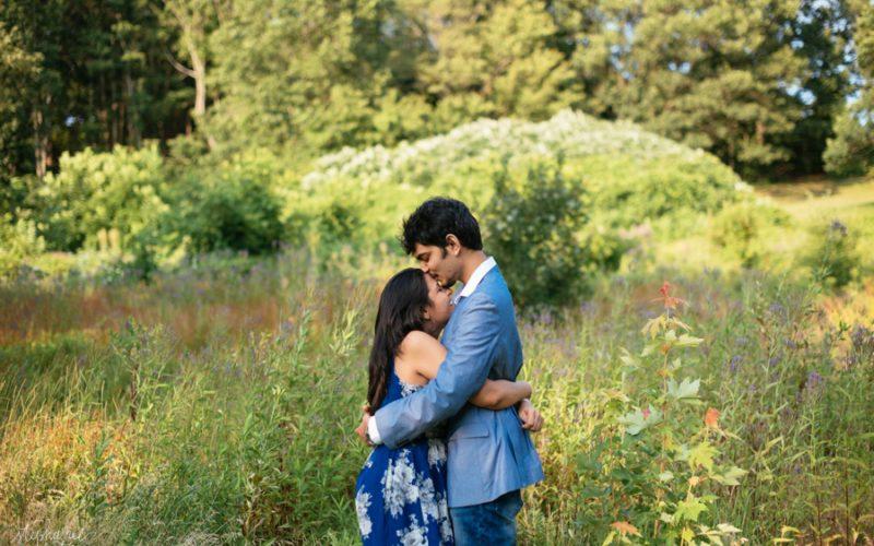 Arushi + Aditya | Larz Anderson Park Engagement Photos