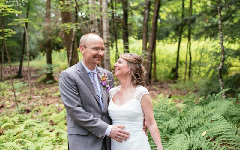 Stacy + Mike // Married! | Woodbound Inn Wedding Rindge, NH