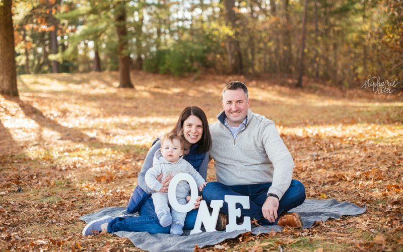 H Fam | Fall Family Photos in Southern MA