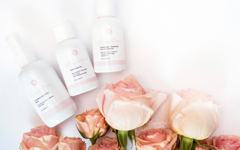 Blush Tan Product Line | Wellesley Brand Photos