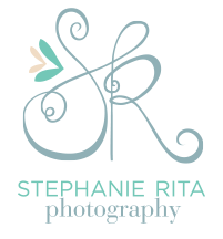 Stephanie Rita Photo Vibrant Adventurous wedding photography Boston MA NH ME RI logo