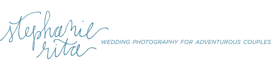 Stephanie Rita Photo Vibrant Adventurous wedding photography Boston MA NH VT RI logo